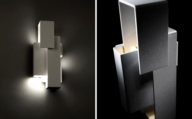enigmatic spatial of a continuum the uniquely configured escher led wall sconce is the latest addition from modern forms a wac lighting - Modern Forms Lighting