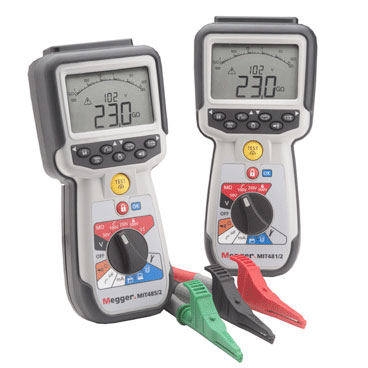 Wire Insulation Tester   Enhanced Insulation Tester Series From Megger Features Three Wire