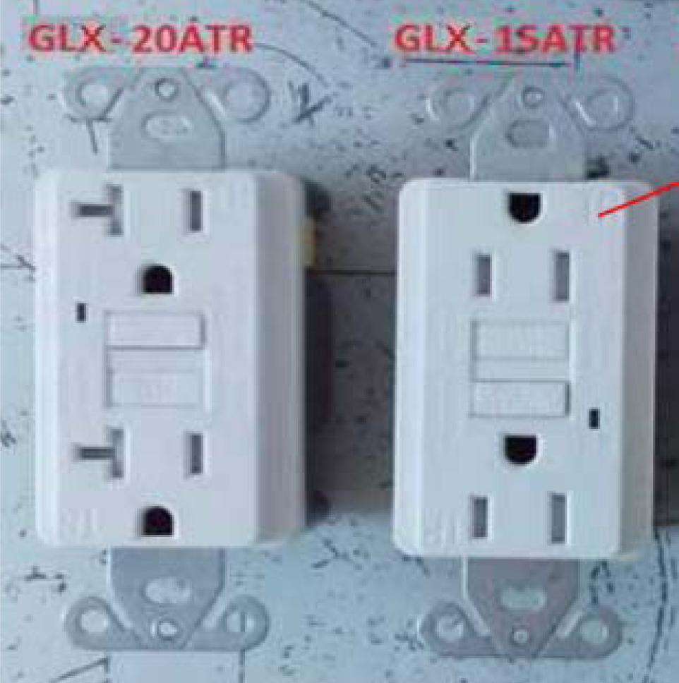 Intertek Warns Of Safety Concern For Huizhou Faith Electric Ground Fault Circuit Interrupter Outlet This Type Photo Smart Electrician Branded Glx 20atr And 15atr Interrupters