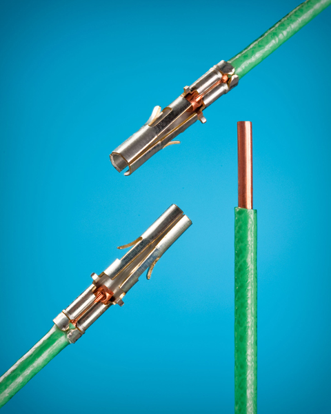 Crimp On For Solid & Stranded Wire Eliminates Soldering And ...