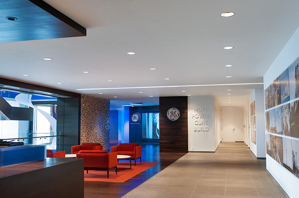 The New Ge Innovation Centre In Calgary Which Officially Opened June 2017 Makes Use Of State Art Lighting Technology Fixtures And Lamps To