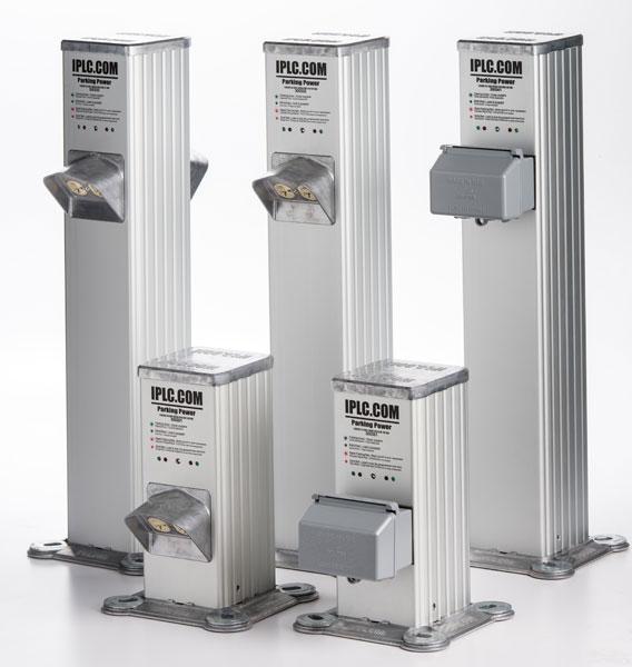 Pedestal Electrical Outlets : The ip series pedestal parking lot controller