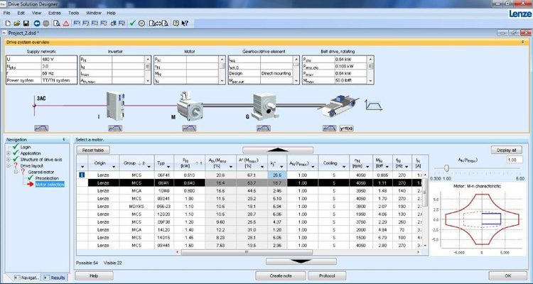 Winder Drive Dimensioning Made Easy With Lenze Drive