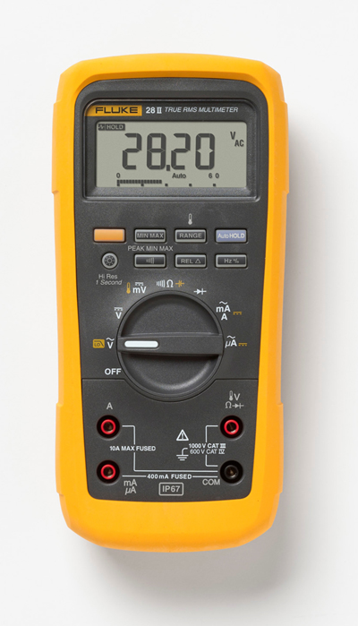 Fluke Throws Down Its Toughest Tools: New Fluke 27 II and 28