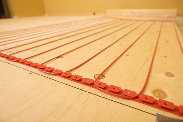 Floor Heat Cable Locators : Nuheat introduces newly redesigned free form floor heating
