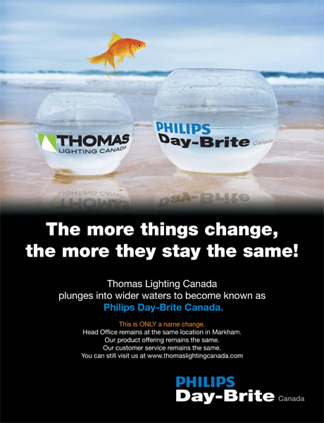 Thomas Lighting Canada Changes Name And Oints S