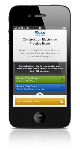 Construction Electrician Practice Exam for Mobile Devices