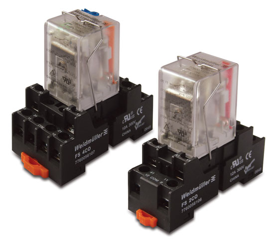 DRM SERIES Relay New Miniature Power Relay from Weidmuller
